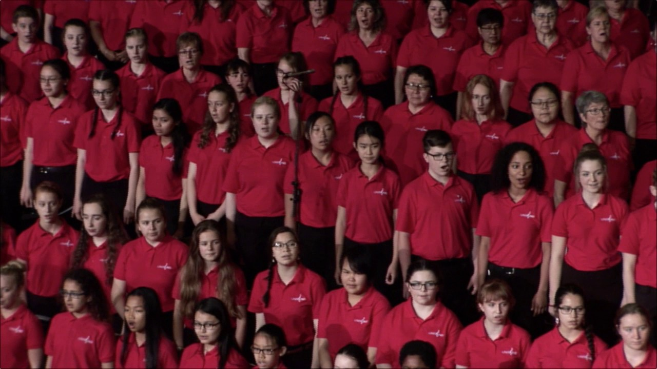 video: Unisong Choral Festival 2017 - O Canada