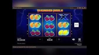 Thunder Reels - online casino slot - Big win!