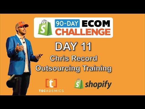 Day 11 - Outsourcing Training