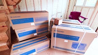 Our Mr Cool HEAT and Air Conditioning Mini Split System ARRIVED!!!