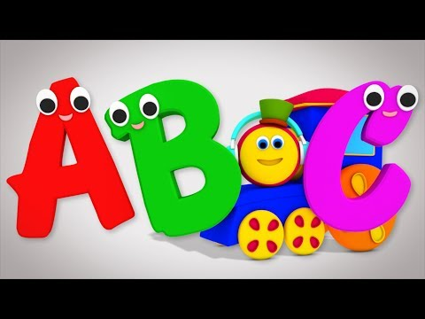 ABCD Song | Learn English for Kids | Baby Learn | Learning Street With Bob The Train