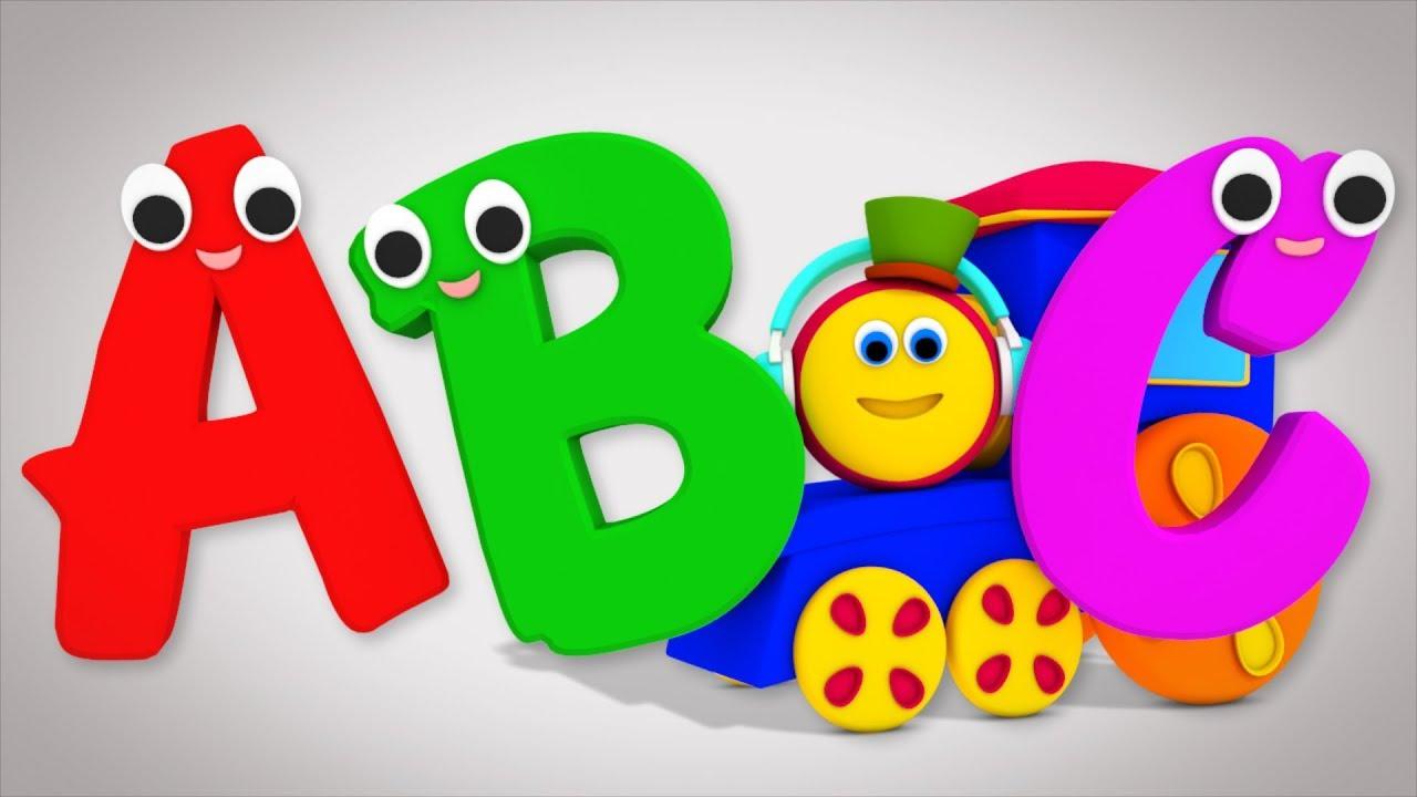 Bob The Train | Alphabet Adventure | abc Song | abcd song ...