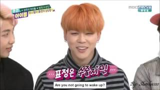 Jimin Wake Up / Morning Call (Eng Sub)