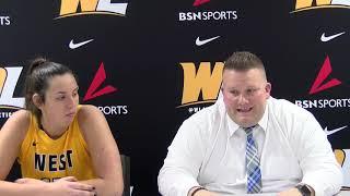 Post Game Presser | Head Coach Kyle Cooper and Marissa Brown | W.Va. State1.10.19