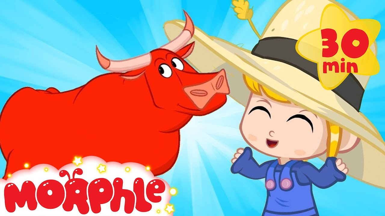 Morphle At The Rodeo - My Magic Pet Morphle | Cartoons For Kids | Morphle TV | Mila & Morphle