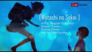 Fuuka Ending Theme Lyrics Watashi No Sekai