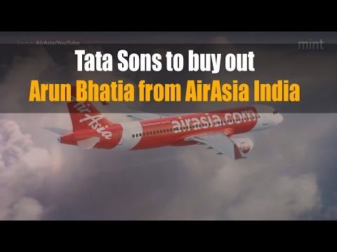 Tata Sons to buy out Arun Bhatia from AirAsia India