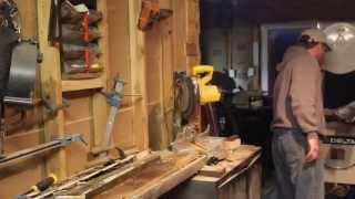 Reclaimed Wood Xmas Trees