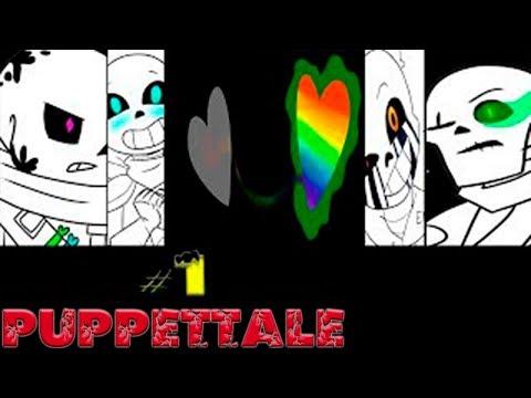 Comics Puppettale | Undertale Глава 1 часть 1 (Озвученный Комикс)🎙️