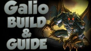 League of Legends - Galio Build - with Commentary