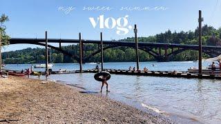 포틀랜드vlog| 내츄럴와인샵, 강가공원 피크닉, 브로…