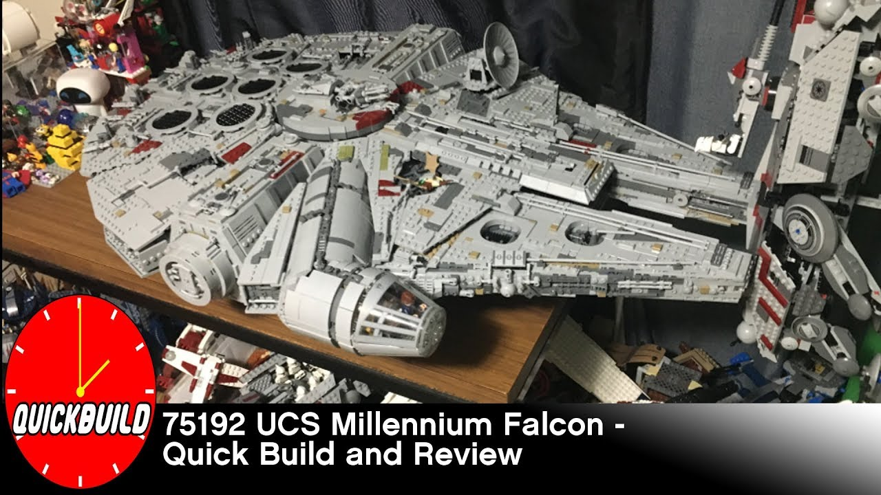 lego star wars 75192 ucs millennium falcon quick build. Black Bedroom Furniture Sets. Home Design Ideas