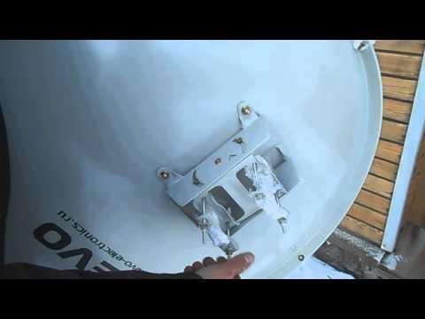 Как настроить спутниковую антенну телекарта