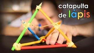 CATAPULTA de lápis (brinquedo)