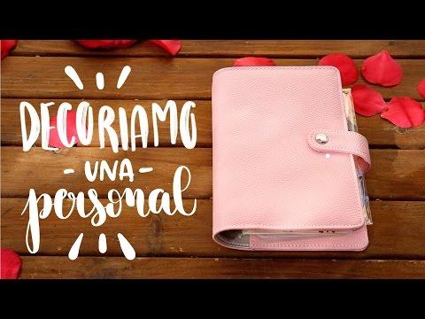 Agenda Personal: decorazioni DIY rosa semplici 💖