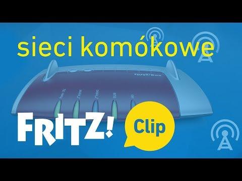 FRITZ! Clip – Dostęp do internetu przez sieci komókowe