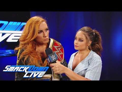 Becky Lynch will compete twice at WWE Money in the Bank: SmackDown LIVE, April 23, 2019
