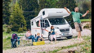 Riesenplatz im Womo: Sunlight A68 2021 Wohnmobil Fiat Ducato. Platz für die ganze Familie.