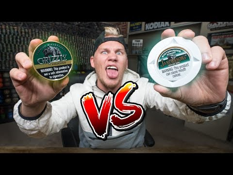 American Dip Pouches VS. Swedish Snus!! (Comparison)