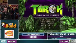 Turok: Dinosaur Hunter by bawkbasoup in 37:09 - AGDQ 2017 - Part 116