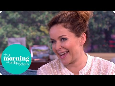 Julia Sawalha Used To Have A Crush On Phillip  This Morning