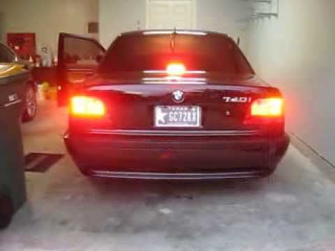 bmw 740i e38 led taillights youtube. Black Bedroom Furniture Sets. Home Design Ideas
