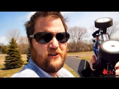 """Turnigy 1/16 Buggy (Losi8 Mini """"borrowed"""") Running Video & Initial Thoughts"""