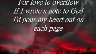 A Note To God -by Charice- With Lyrics