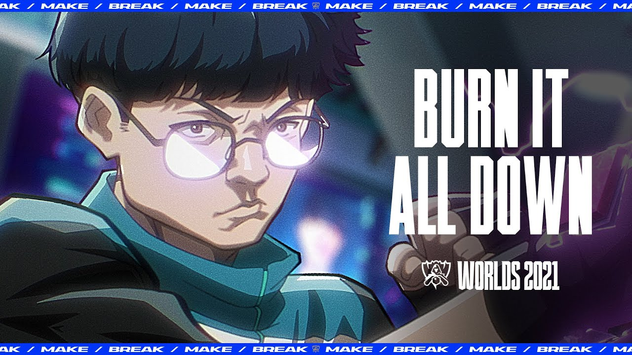 Download Burn It All Down (ft. PVRIS) | Worlds 2021 - League of Legends