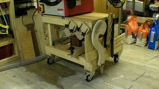 Movable Table Saw Stand / Table / Bench