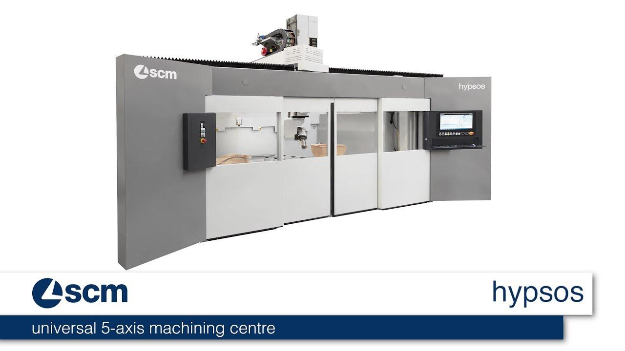 scm hypsos - universal 5 axis machining centre