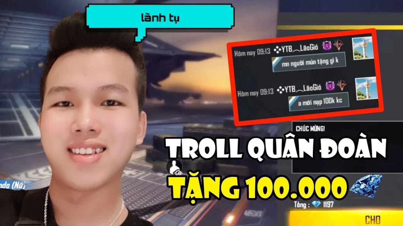 [Free Fire] Lần Đầu Làm Chủ Quân Đoàn YTB Troll Tặng 100.000 Kim Cương Cho Thành Viên | Meow DGame