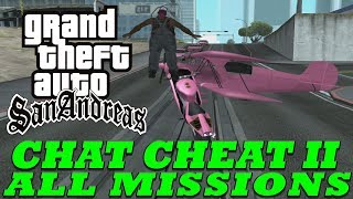 Viewers Control The Cheats During GTA San Andreas Speedrun! - All Missions