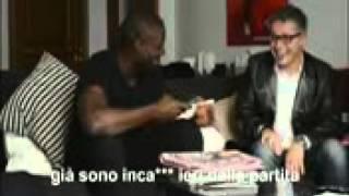 Stefano Okaka scherzo a Mihajlovic!!