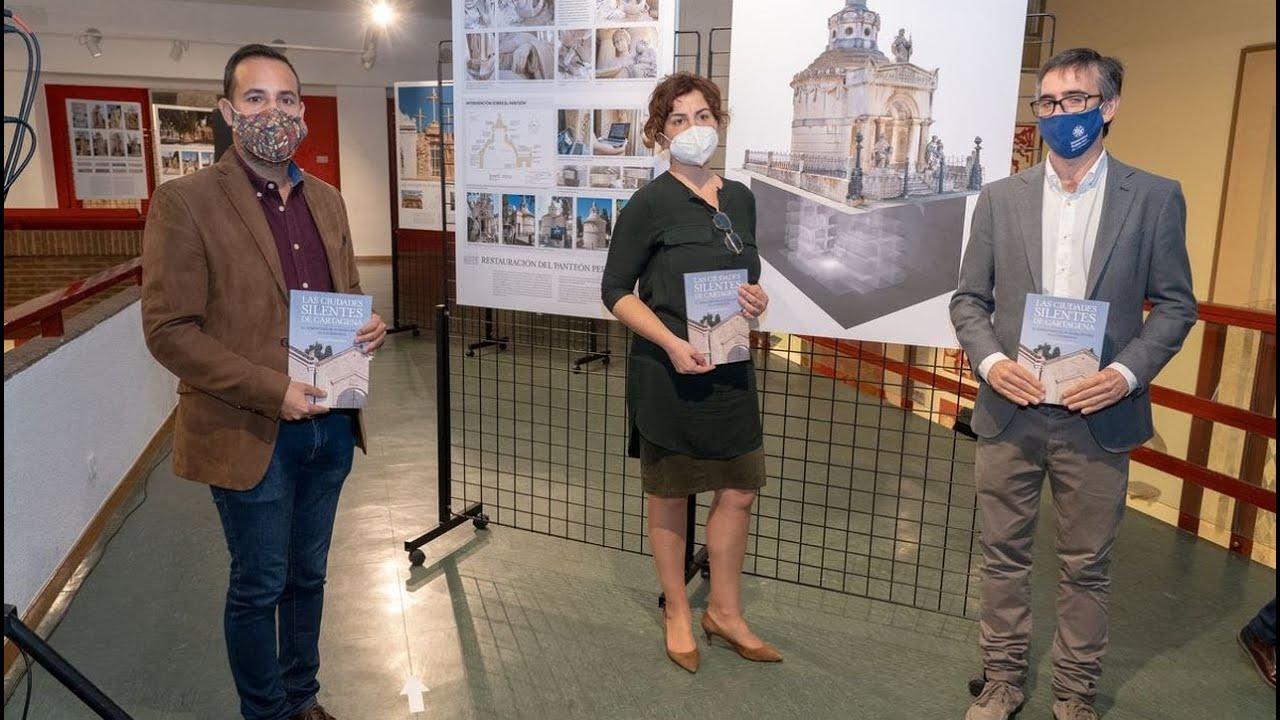 Presentación de la Exposición y el libro sobre el cementerio Nuestra Señora de los Remedios