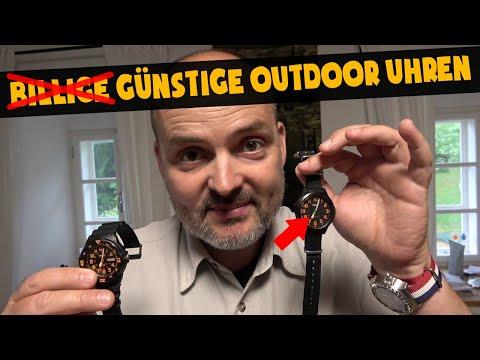 Günstige Outdoor Uhren | Survival Ausrüstung