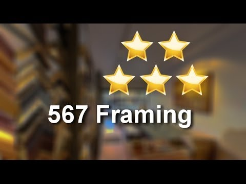 567 Framing New York Excellent 5 Star Review by Lisa L. - YouTube