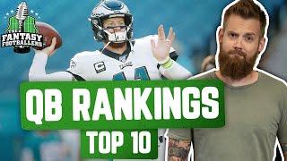 Fantasy Football 2020 - T๐p 10 QB Rankings + Evolving Opinions, Deshaun Warlock - Ep. #919
