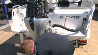 Honda BF90 Outboard Engine Service - It's Easy!(Check in with