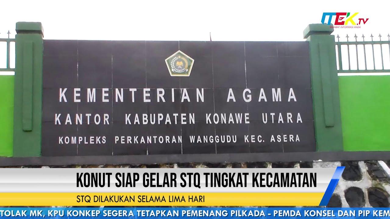 Konut Siap Gelar STQ Tingkat Kecamatan