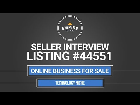 Online Business For Sale – $4.5K/month in the Technology Niche