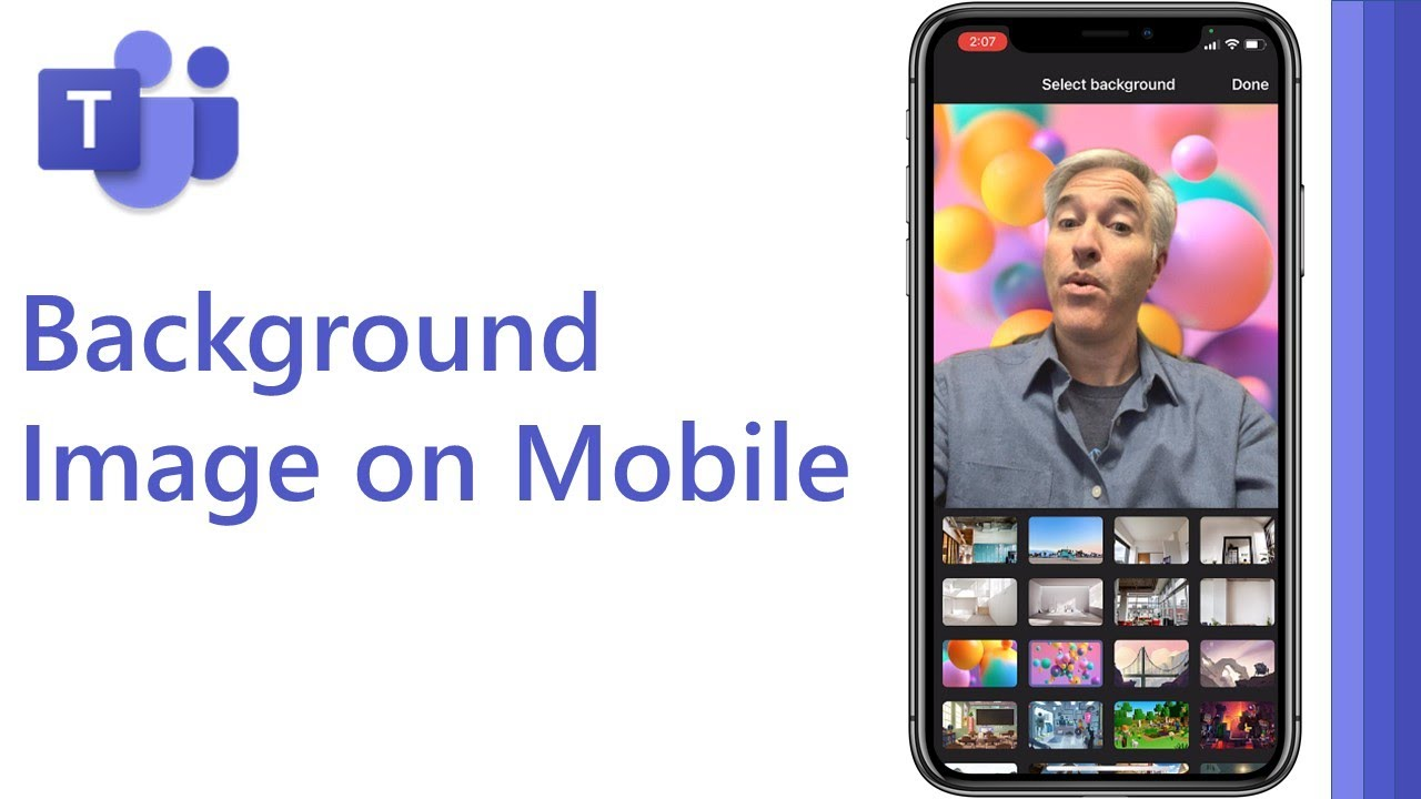 Microsoft Teams background image for mobile | iPhone and Android 2021 #shorts