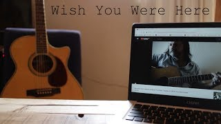 Cover of 'Wish You Were Here' by Pink Floyd (intro only)