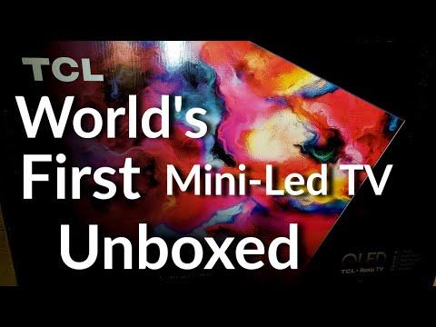 Unboxing The World's First Mini Led TV| TCL 8-Series (Q825) Mini-Led TV Unboxing & Setup| S2•Ep•765