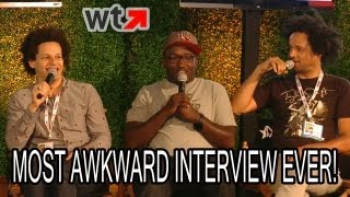 Eric Andre & Hannibal Buress' Most Awkward Interview (Comic-Con 2013)