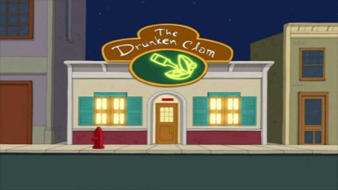 The Drunken Clam Background Family Guy - YouTube