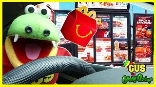 Driving Thru IRL with Food and Toys from McDonalds and MORE!