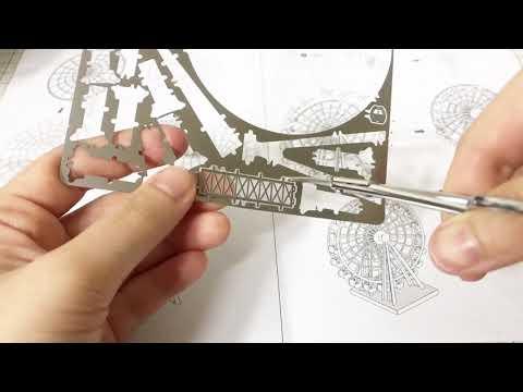 3D 메탈퍼즐 만들기 (꿀팁?) 3d metal puzzle