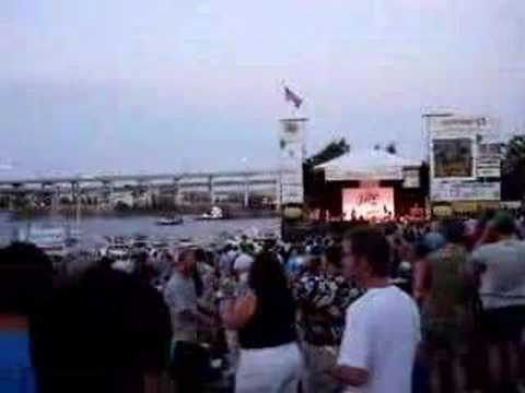 Portland Waterfront Blues Festival and Fireworks