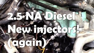 The 2.5 NA Defender diesel LIVES! Job done!